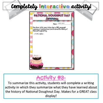 History of National Doughnut Day {Digital}