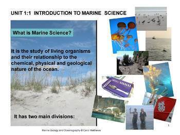 History of Oceanography - Unit 1