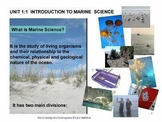 History of Oceanography - Ocean Unit 1 Bundled