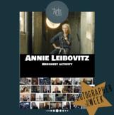 History of Photography: Annie Leibovitz webquest (interactive)