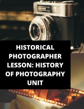 History of Photography Lesson - Lesson, Differentiated Instruction
