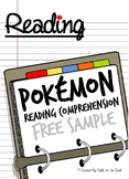 History of Pokemon Reading Comprehension