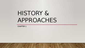 History of Psychology PowerPoint