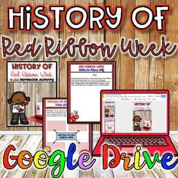 History of Red Ribbon Week {Digital}
