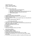 History of Rock, Chapter 1: The Fifties; Outline, Study Packet and Song List