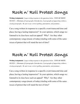 History of Rock n' Roll
