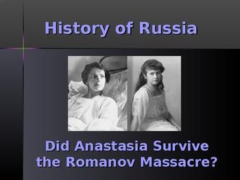 History of Russia - Did Anastasia Survive the Massacre?