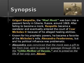 History of Russia - Key Figures - Grigory Rasputin