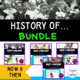 History of School, Transport, Technology and Toys: BUNDLE, HASS