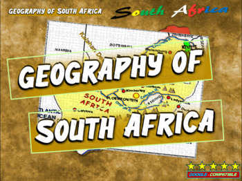 History of South Africa: PART 1 of 100-slide, 4-PART UNIT (handouts included)