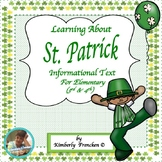 History of St. Patrick: Informational Text Passages, & Printables