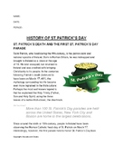 History of St.Patrick's Day