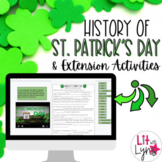 History of St. Patrick's Day & ELA Extension Activities |