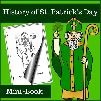 History of St. Patrick's Day Mini-Book