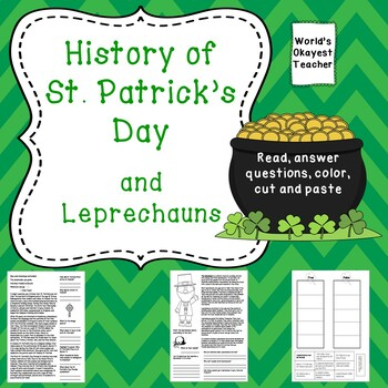 History of St. Patrick's Day and Leprechauns