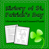 History of St. Patrick's Day - Informational Text and Cros