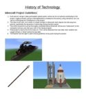 History of Technology - Mine Craft Project