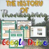 The History of Thanksgiving {Digital} Distance Learning