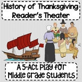 History of Thanksgiving Reader's Theater