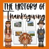 History of Thanksgiving Unit