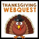 History of Thanksgiving Webquest {History.com}