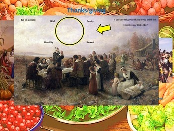 History of Thanksgiving- with activities (elementary & adolescent)