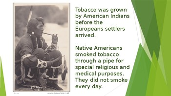 History of Tobacco and its Effects