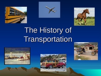 History of Transportation PowerPoint