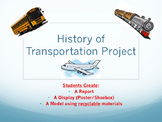 History of Transportation Project