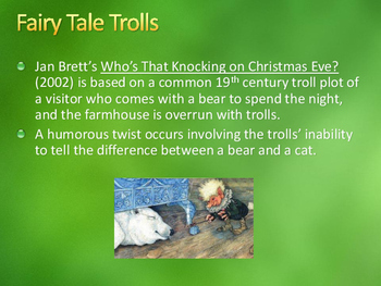 Trolls and Jan Brett