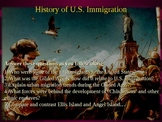 History of U.S. Immigration PPT - Highly visual and interactive