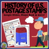 History of US Postage - design you own stamps and mailbox craft