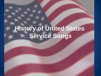 History of United States Service Songs, God Bless America