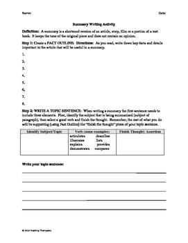 History of Valentine's Day Close Reading/Summary Writing-11th Grade