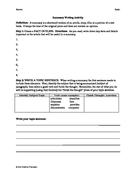 History of Valentine's Day Close Reading/Summary Writing Differentiated Bundle