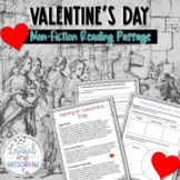 History of Valentine's Day Reading Passage with Critical T