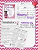History of Valentine's Day Informational Text with Bingo Q