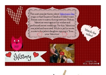 History of Valentine's Day Lesson