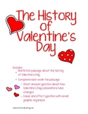 History of Valentine's Day Reading Comprehension