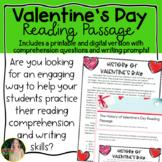 Valentine's Day Reading Passage