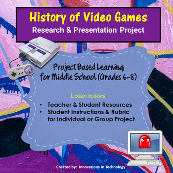 History of Video Games - Research & Presentation Project