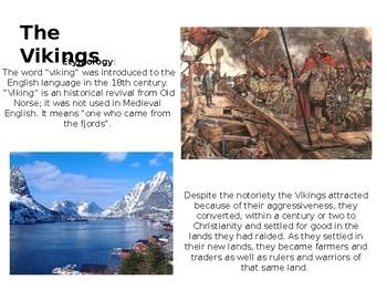 History of Vikings PowerPoint