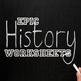 History of Wartime Laws Worksheet - USH/APUSH