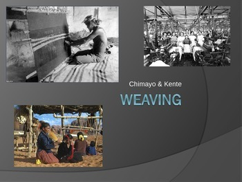 History of Weaving Power Point