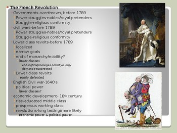 History of Western Civilization from 1648,powerpoint, ch.19, 1789 to 1799