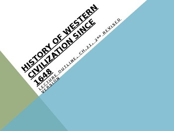 History of Western Civilization from 1648,powerpoint, ch.21, 1830 to 1848