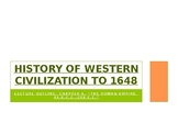 History of Western Civilization to 1648, powerpoint, ch.6,