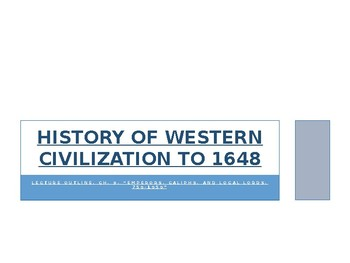 History of Western Civilization to 1648, powerpoint, ch.9, Middle Ages, 750-1050