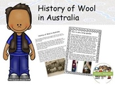 History of Wool in Australia