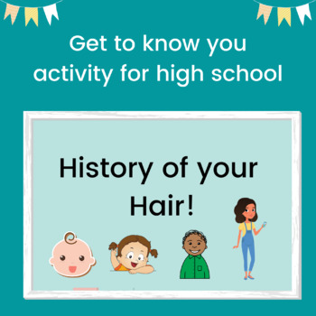 History of Your Hair Presentation- Get to Know You Activity